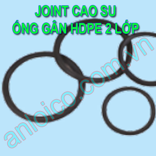 Joint cao su nối ống gân HDPE 2 lớp Good Group